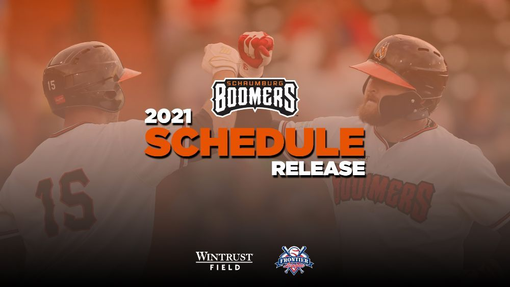 2021 Boomers Schedule Announced