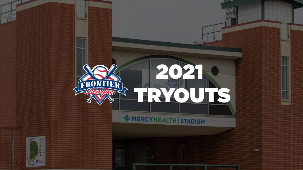 2021 Frontier League Tryout Camp & Draft May 10-11