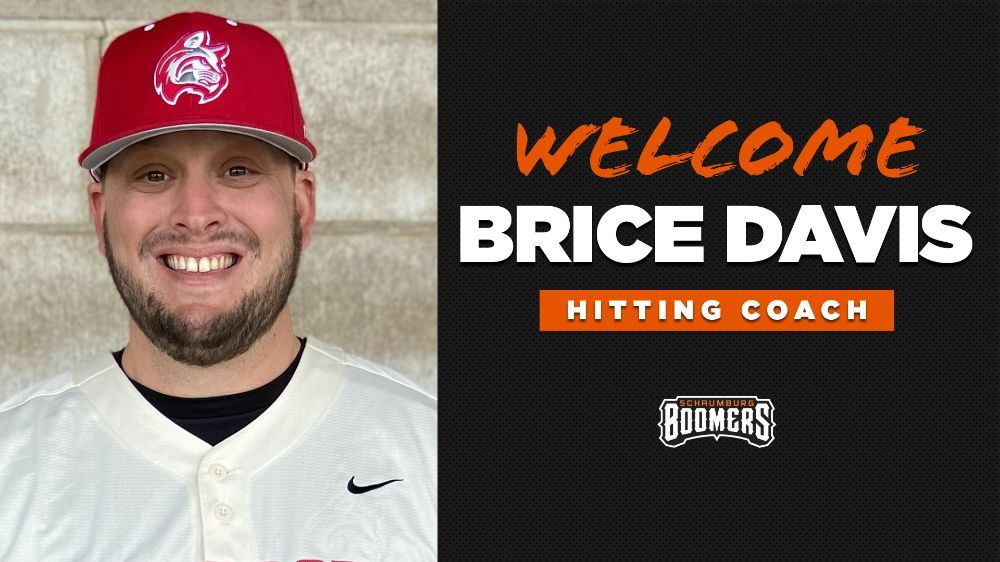 Boomers Hire Brice Davis as New Hitting Coach
