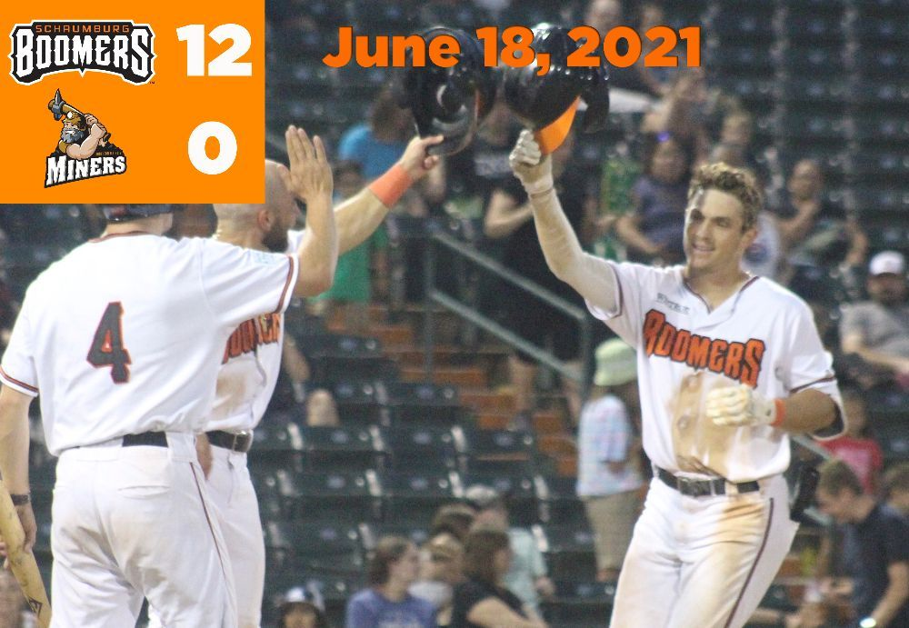 McGarry Hits for the Cycle as Boomers Roll in Homestand Opener