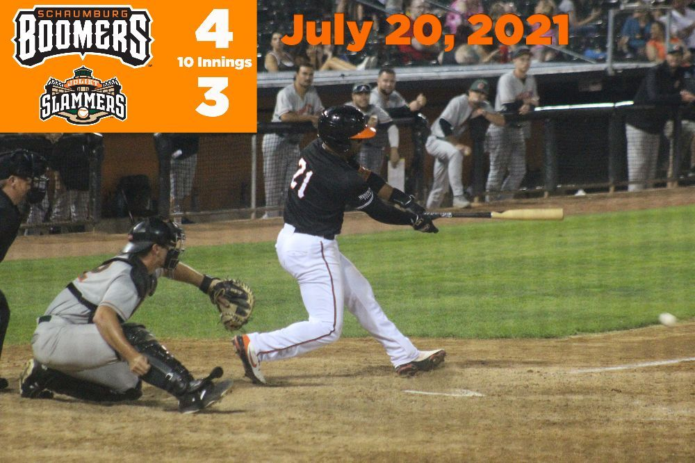 Boomers Walk Off in Extras