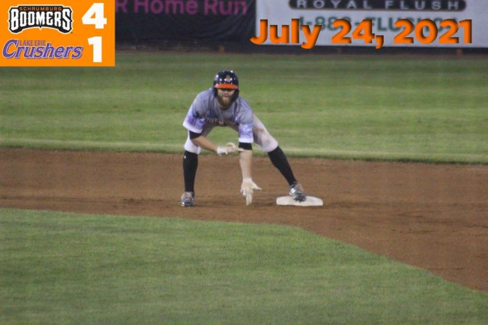 Boomers Lead Wire-to-Wire in Win Over Lake Erie