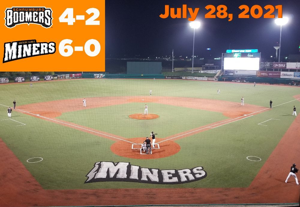 Boomers Open Trip with Doubleheader Split