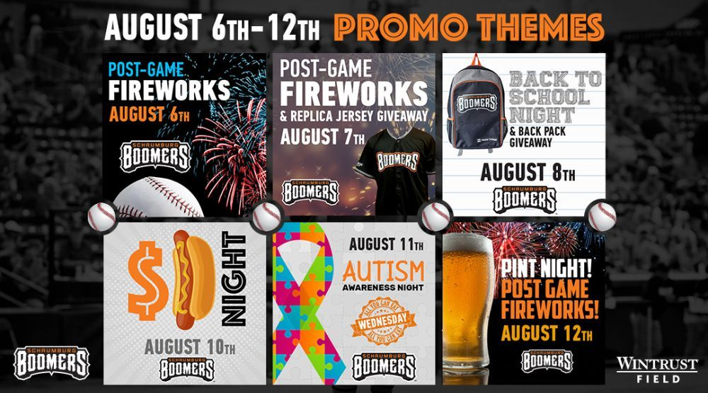 Homestand Preview August 6-12