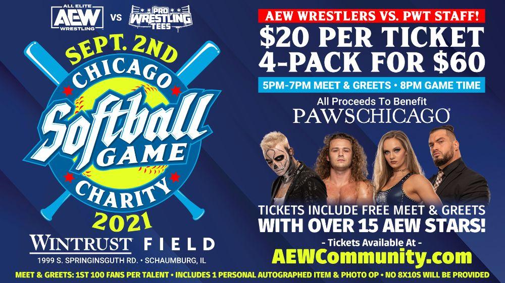 AEW Charity Softball Game