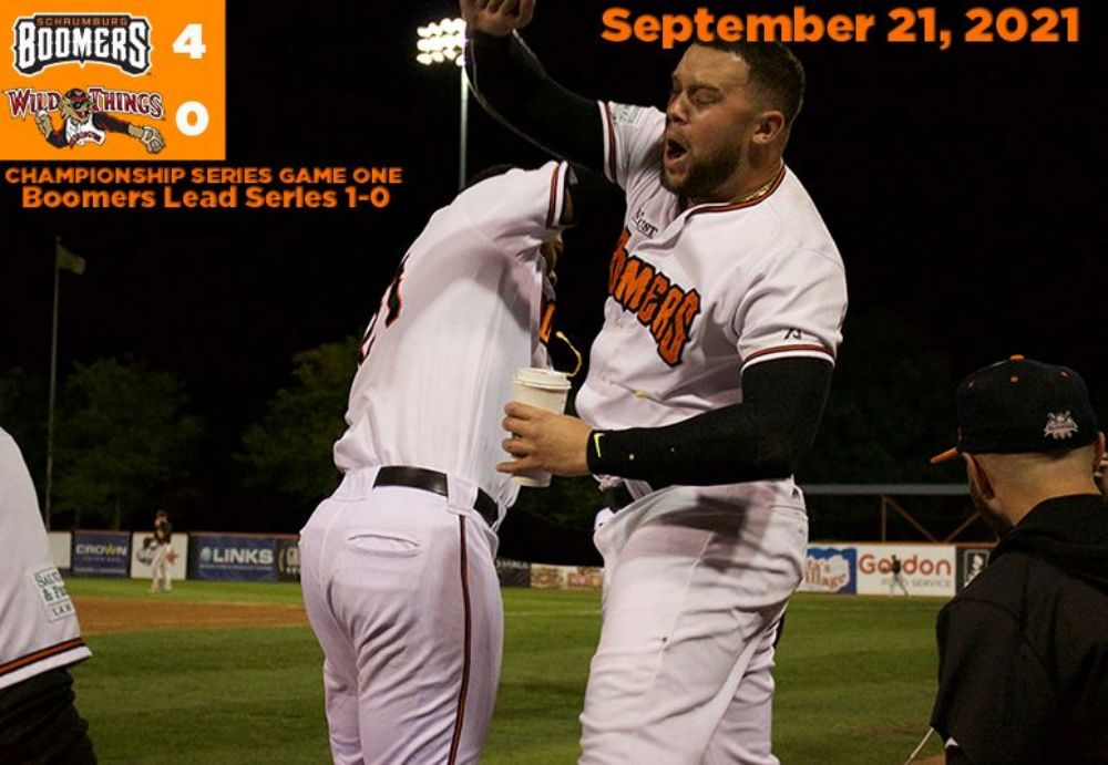 Boomers Homer to Game One Victory