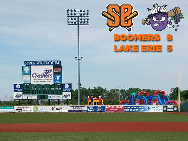Boomers Muscle Past Lake Erie