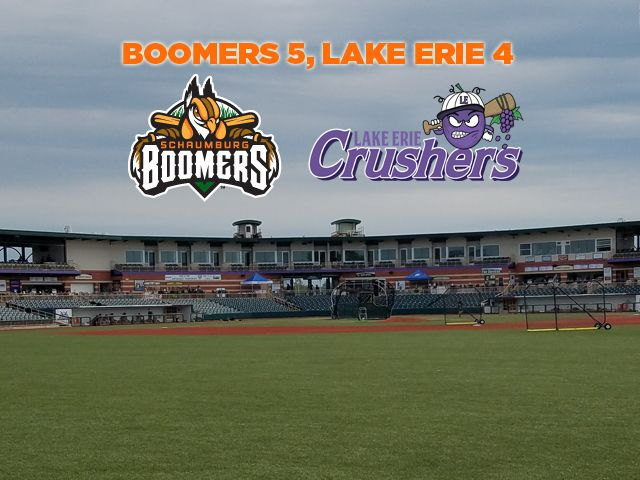 Boomers Rally to Dispatch Lake Erie