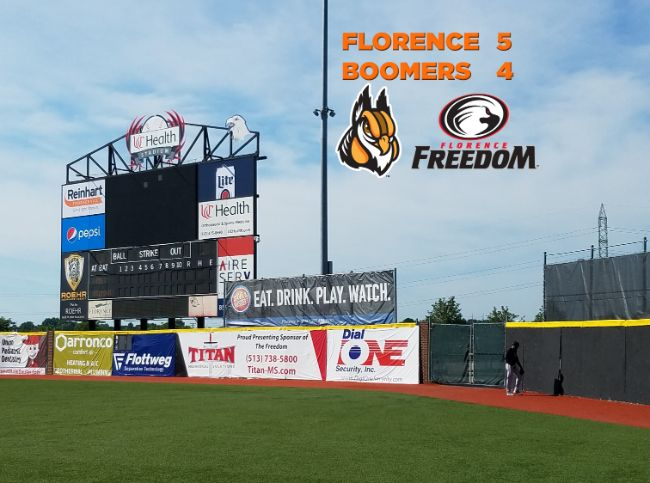 Florence Scores Walk-Off Win in Opener