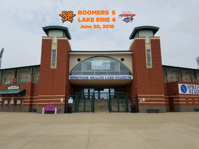 First Inning Spurt Ignites Boomers