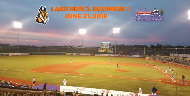 Boomers Edged in Pitcher's Duel