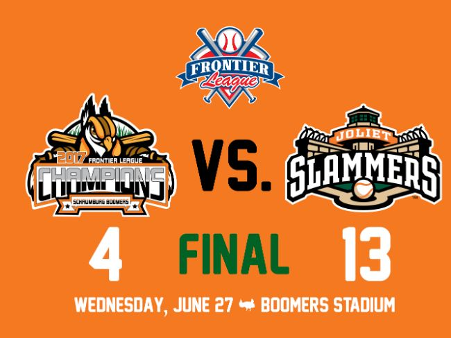 Joliet Swings Past Boomers In Middle Game