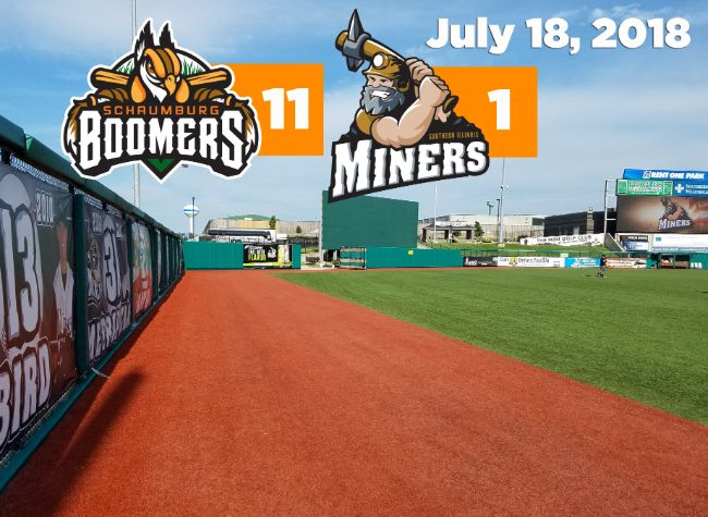 Ninth Inning Explosion Sends Boomers to Second Straight on the Road