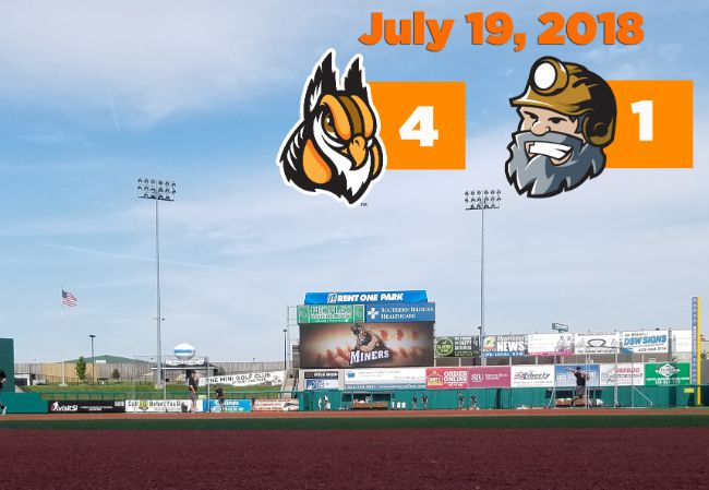Boomers Sweep Miners on the Road