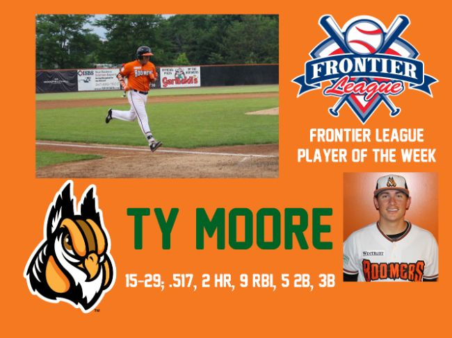 Moore Tabbed as Player of the Week