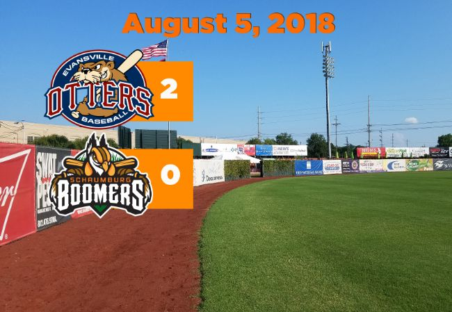 Boomers Blanked in Finale at Evansville