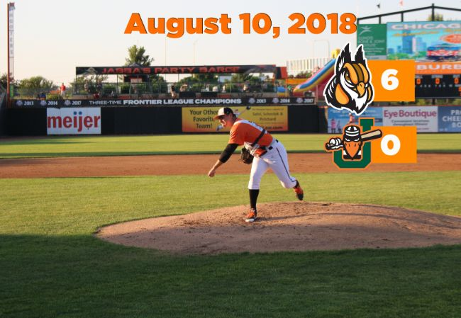 Kines Tosses Complete Game as Boomers Open Long Homestand with Win