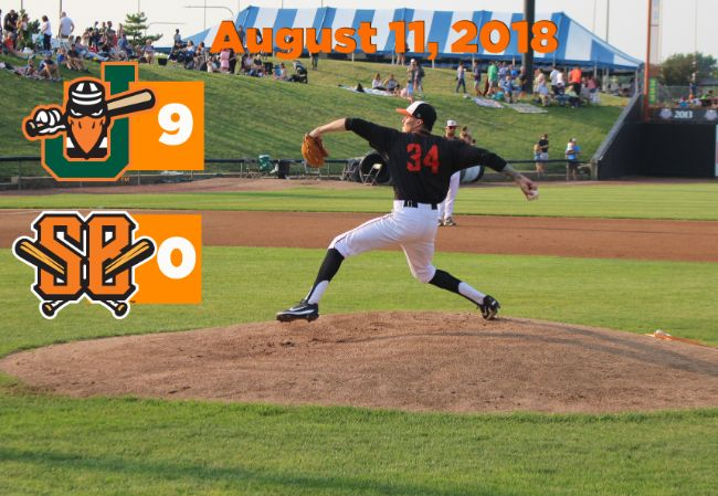 Boomers Blanked in Near No-Hitter