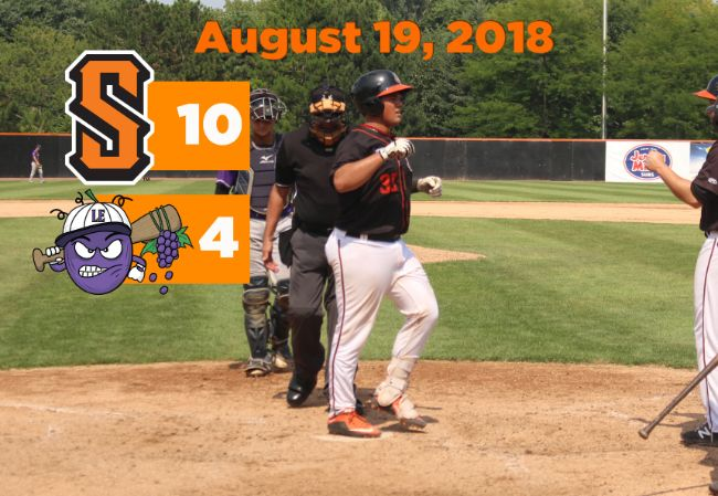 Boomers Homer Past Lake Erie