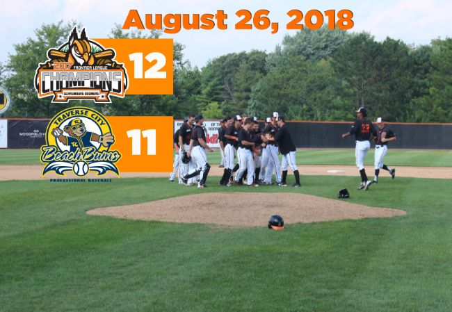 Boomers Walk-Off with Wild Win