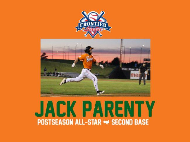 Parenty Named as Postseason All-Star