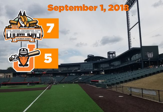 Seventh Inning Sends Boomers to Win