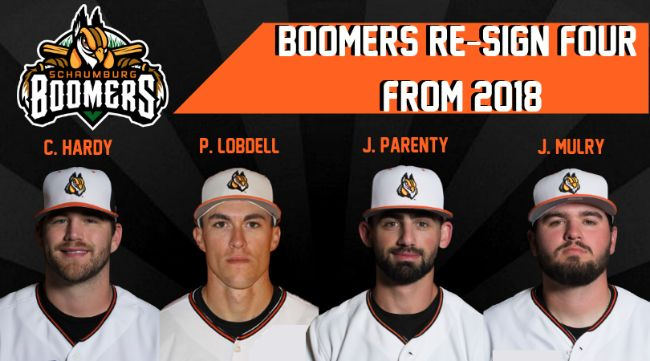 Boomers Re-Sign Four from 2018