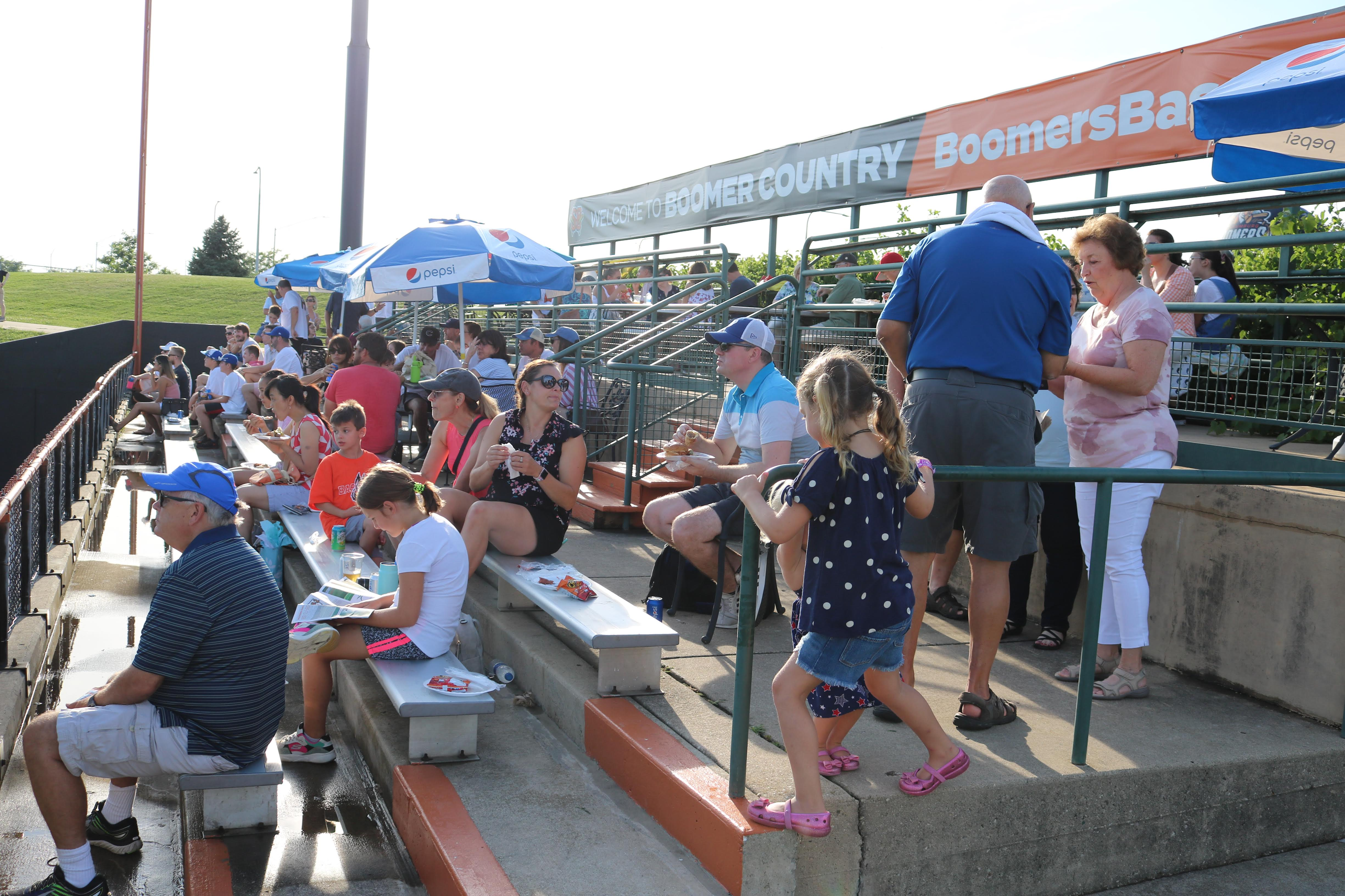Left Field Party Deck
