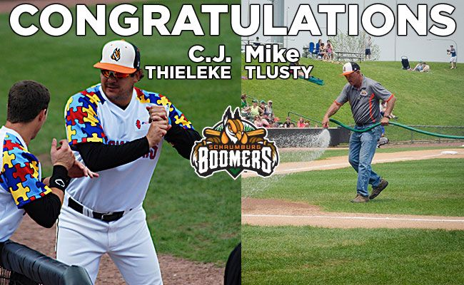 Thieleke Coach of the Year; Tlusty Groundskeeper of the Year