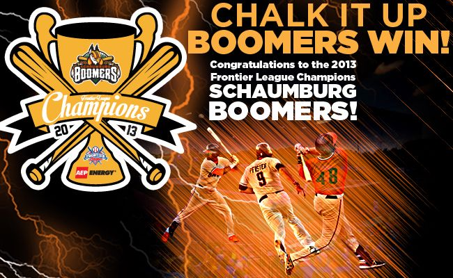 BOOMERS WIN 2013 CHAMPIONSHIP