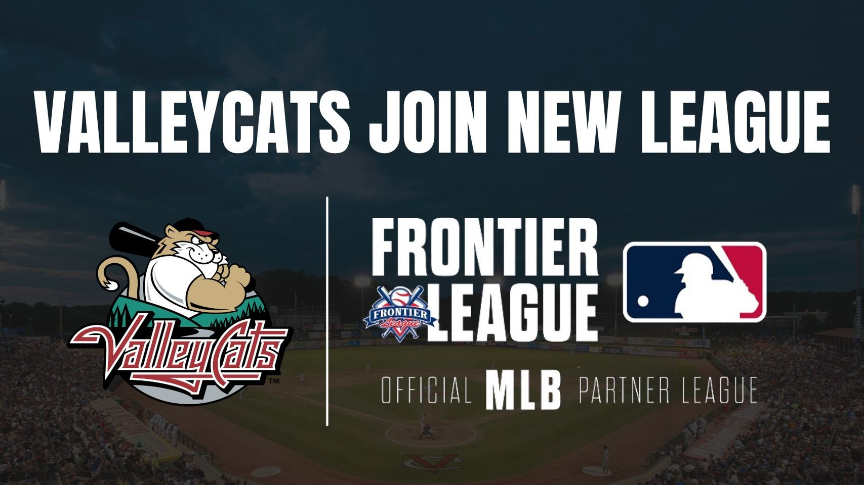 Frontier League Welcomes Tri-City ValleyCats