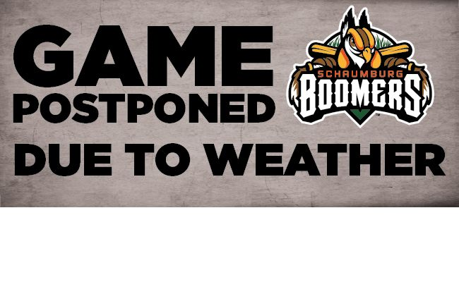 Boomers Rained Out In Homestand Opener