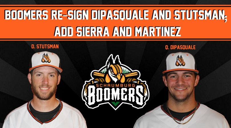 Boomers Re-Sign DiPasquale & Stutsman