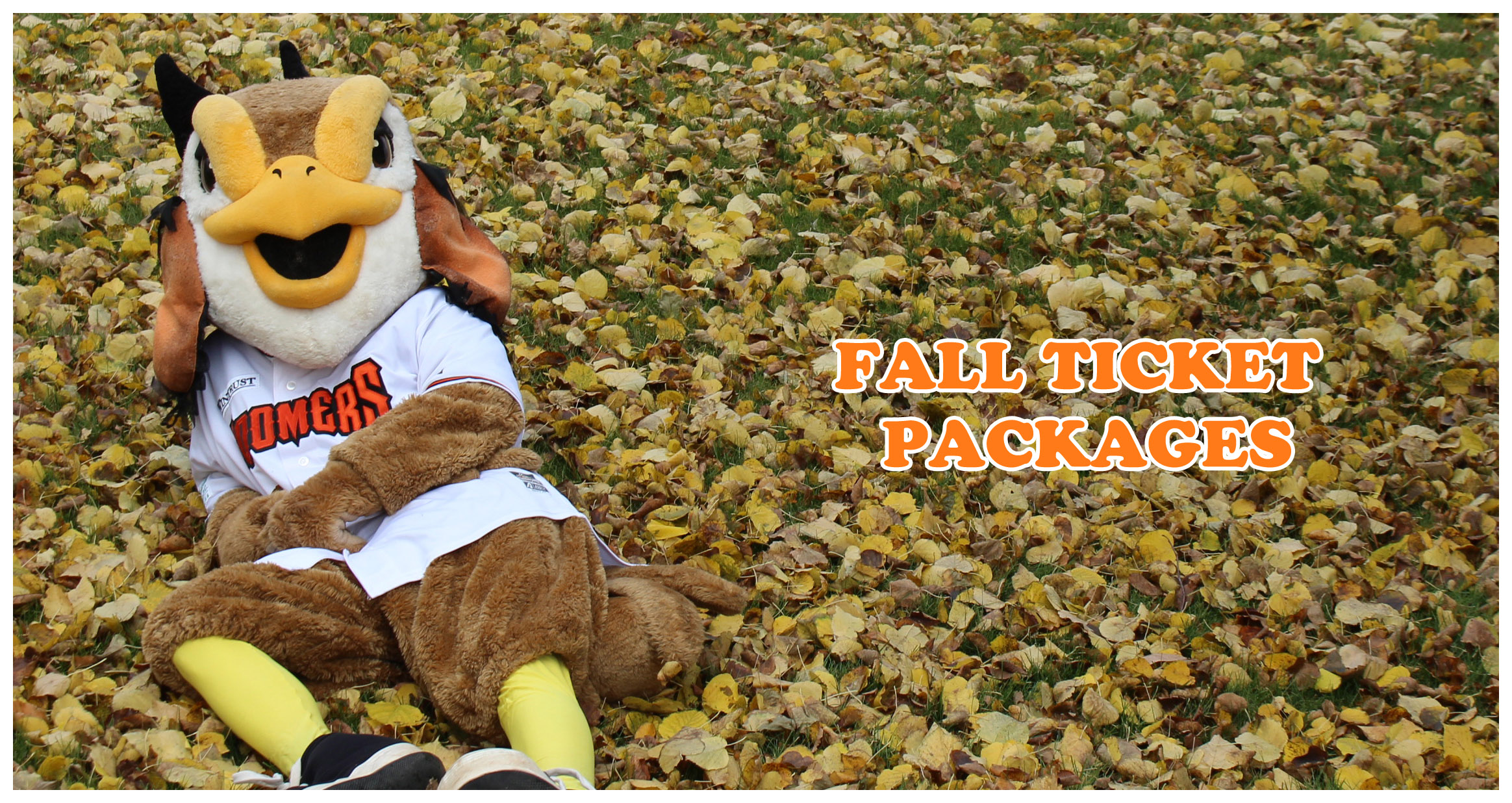 Fall Ticket Packages On Sale Now!