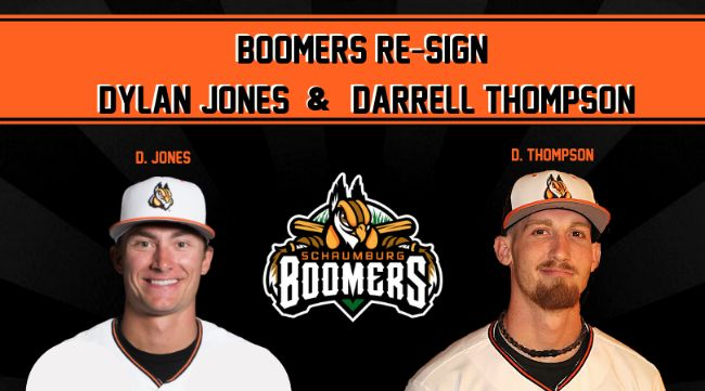 Boomers Re-Sign Jones & Thompson