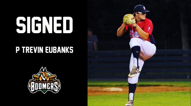 Boomers Add RHP Trevin Eubanks