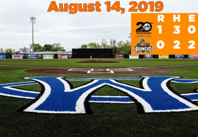 Boomers Drop Key Pitcher's Duel