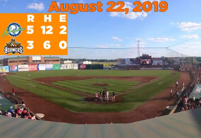 Walk-Off Homer Hands Boomers Loss in Finale at Gateway