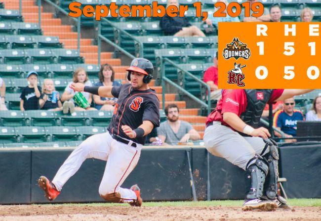 Boomers End Season With Shutout Win