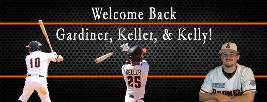 Boomers Bring Back Gardiner, Keller, & Kelly