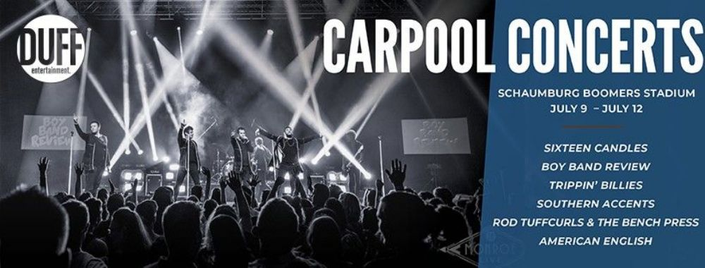 Duff Entertainment Launches Carpool Concerts at Boomers Stadium