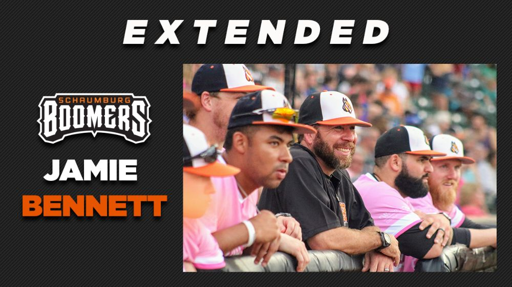 Manager Jamie Bennett Inks Contract Extension; Larson Promoted to Vice President
