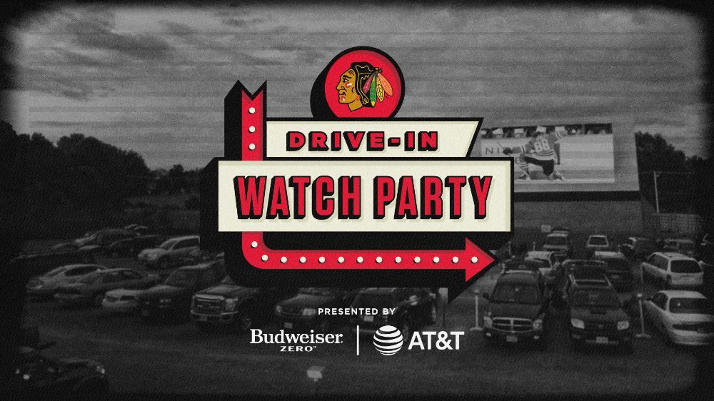 Chicago Blackhawks to Host Drive-In Watch Parties at Boomers Stadium for Stanley Cup Qualifying Round