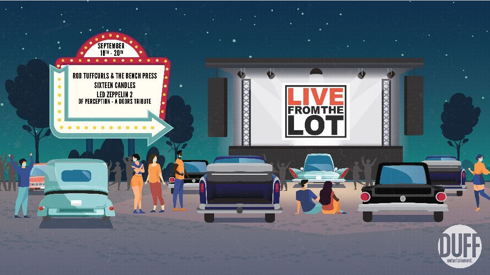 Live From the Lot Returns September 18-20