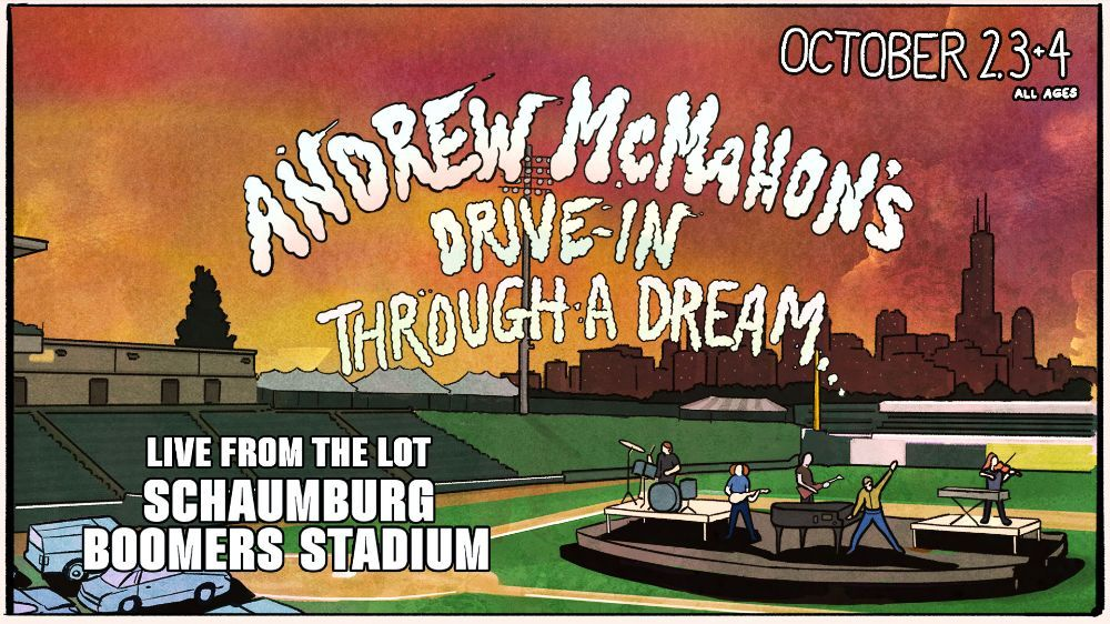 Live From the Lot October 2-4: Andrew McMahon & Special Guest Melody Federer