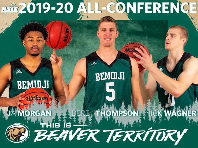 Beaver Men's Basketball trio named to all-conference teams