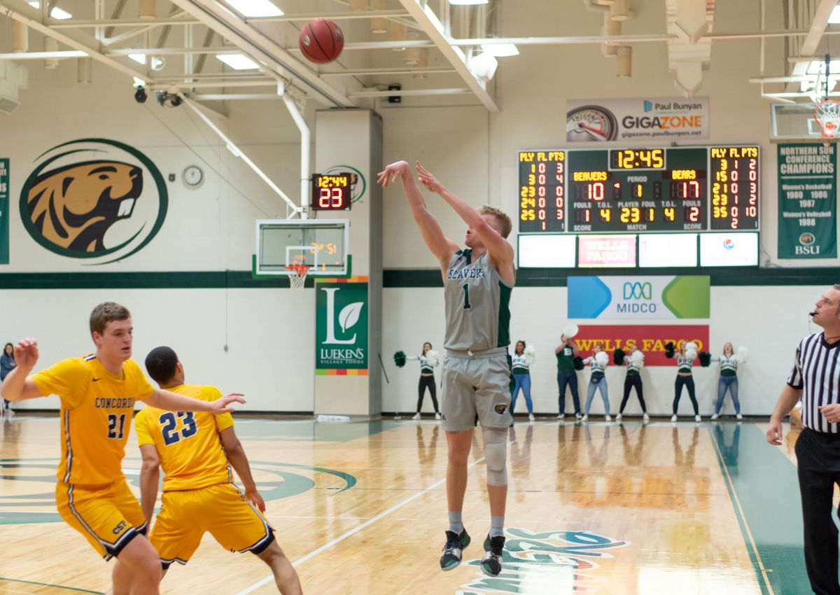Long range attack lifts Beavers to 73-58 win over Golden Bears