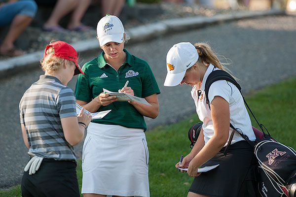 BSU women eighth after two rounds of NSIC Golf Championship