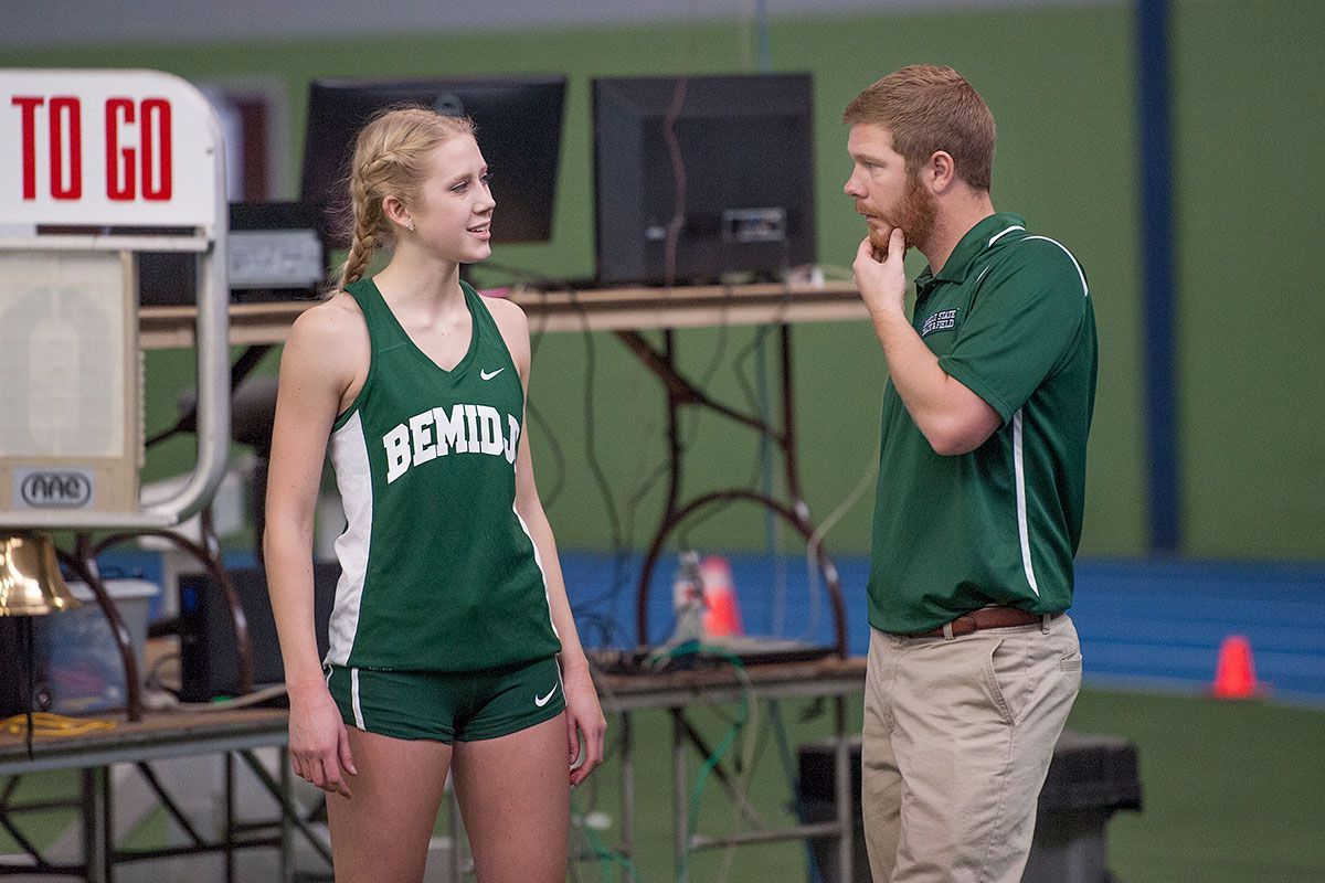 Beavers compete at NSIC Indoor Championships
