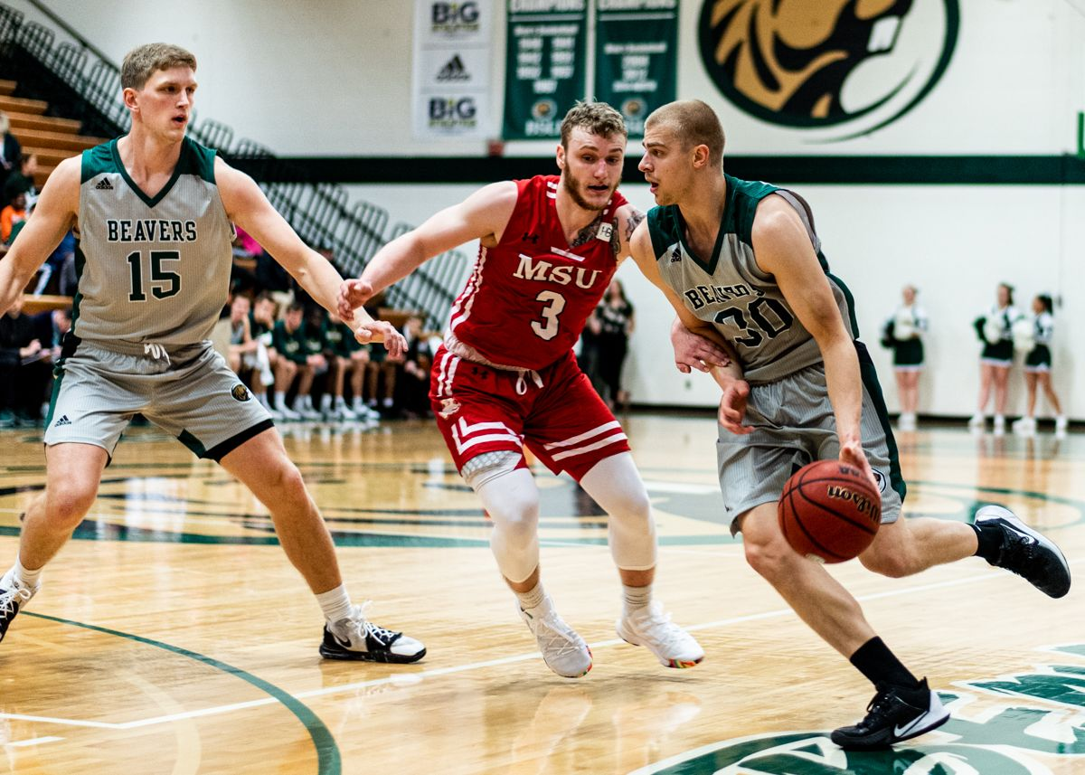 Beavers stunned late in 78-77 loss to Marauders